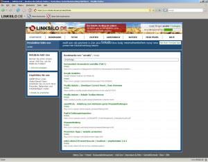 Beispiel für eine Profilseite