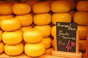 Gouda macht die Käsesuppe besonders nahrhaft.