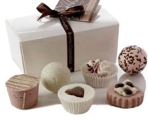 Bomb Cosmetics Badepralinen Chocolate Bath, Weihnachtsgeschenke, Badepralinen, Bomb Cosmetics,