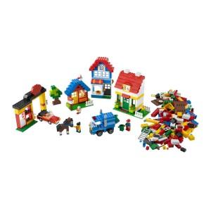 Weihnachtsgeschenk Patenkind: Eine große LEGO-Kiste