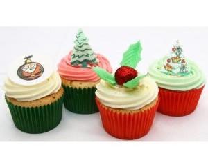 Süßes Weihnachtsgebäck: Köstliche Cupcakes