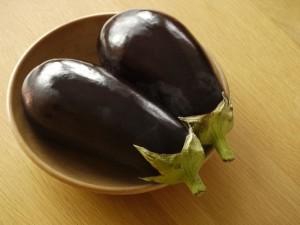 Auberginen für Boranie Badenjan