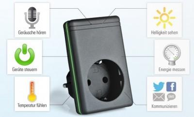 QGate: Smarte IP-Steckdose mit GSM
