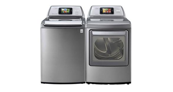 LG zeigt WLAN-Waschmaschine mit App-Steuerung