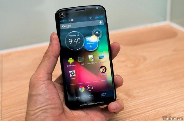 Motorola produziert neues Smartphone Moto X in Texas
