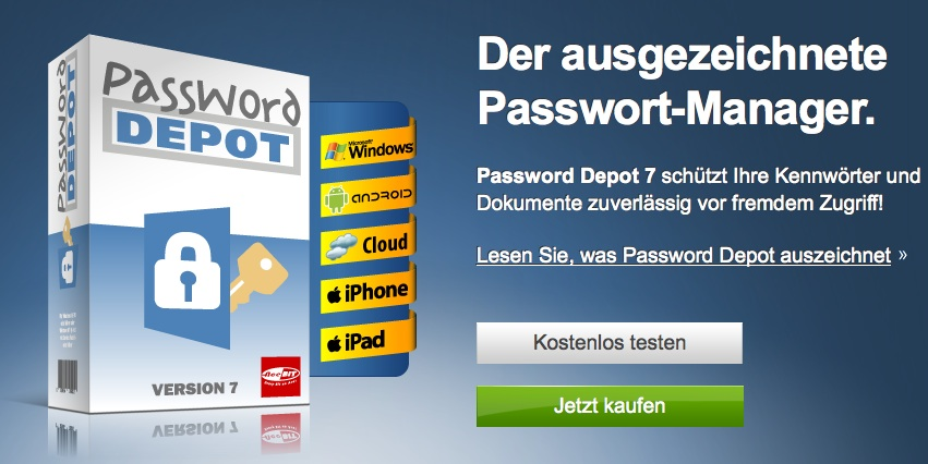 Password Depot: Die intelligente Kennwortverwaltung
