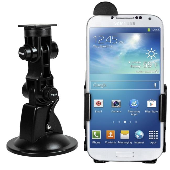 KFZ Halterung von mumbi für Samsungs Galaxy S4 im Test