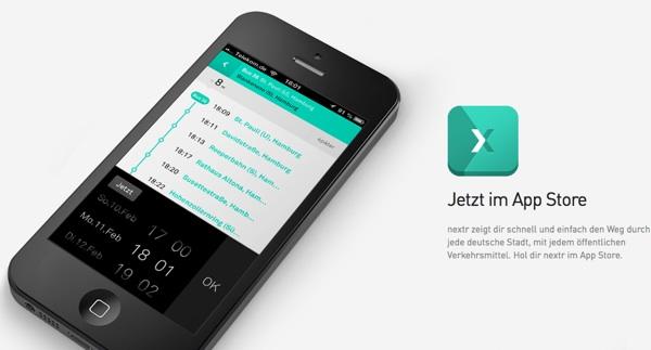 nextr: App-Tipp für das iPhone