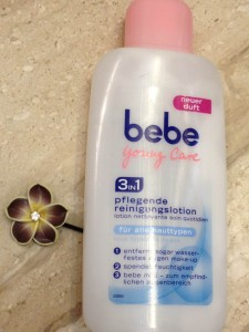 Bebe young care, Reinigungsmilch, Produkttest