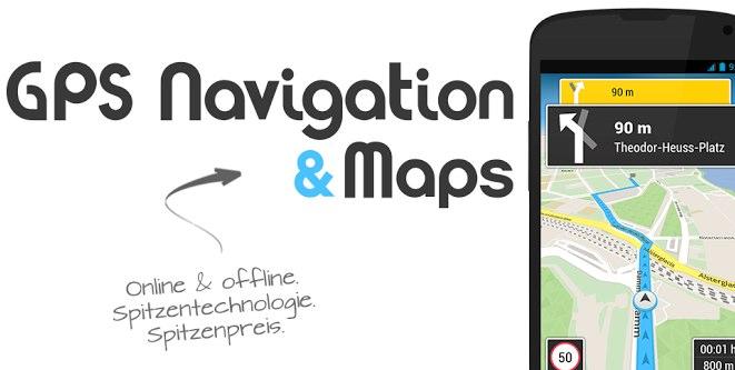 GPS Navigation & Maps für Android und iOS