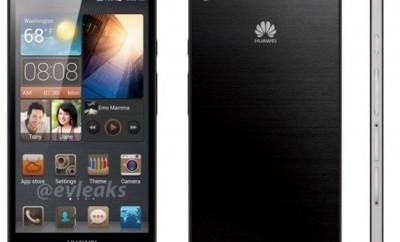 Das dünnste Smartphone weltweit. das Huawei Ascend-P6