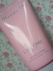 Body Lotion Miracle von Lancôme