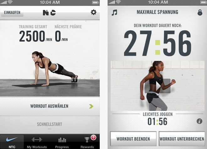 Nike Training Club - Fitness App