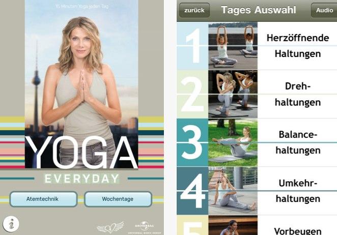 Yoga Everyday - App mit Ursula Karven