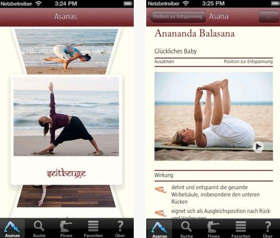 Yoga2go - Die Yoga-App