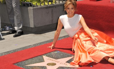 Jennifer Lopez - Walk of Fame
