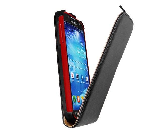 Leder Flip Case von mumbi für das Samsung Galaxy S4 Active im Test