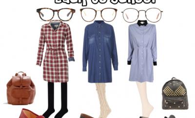 Der Schulmädchen-Look 2013