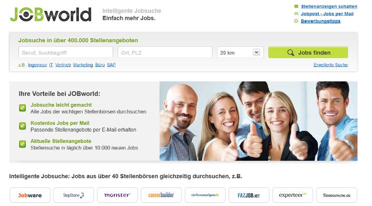 Jobbörse - Jobworld