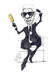 Karl Lagerfeld Professor