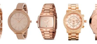 Uhren aus Roségold