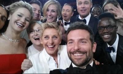 Oscars 2014 Selfie