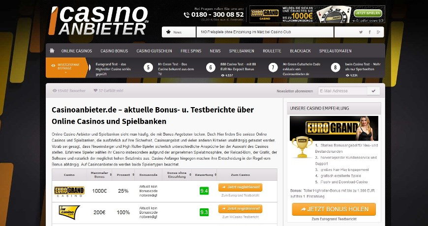 online casino anbieter casino gaming