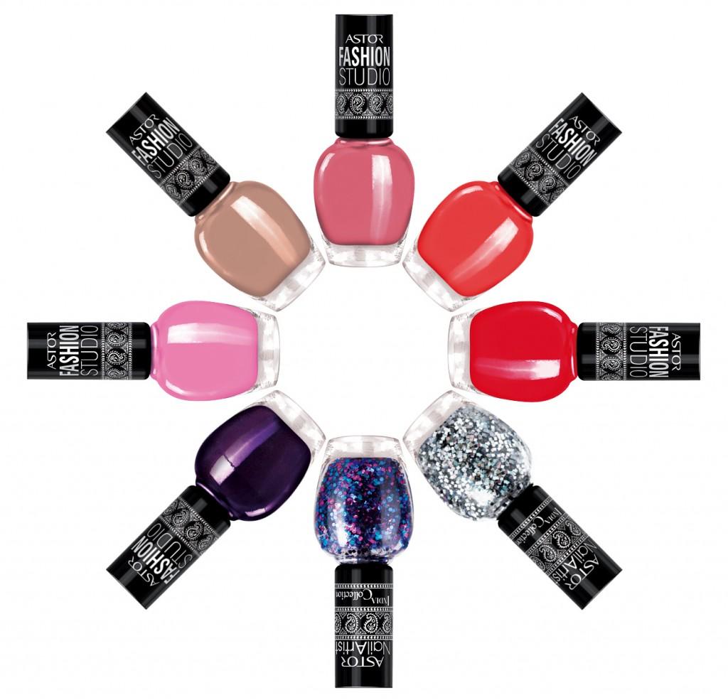 Trendfarben für die Nägel von Astor @Astor