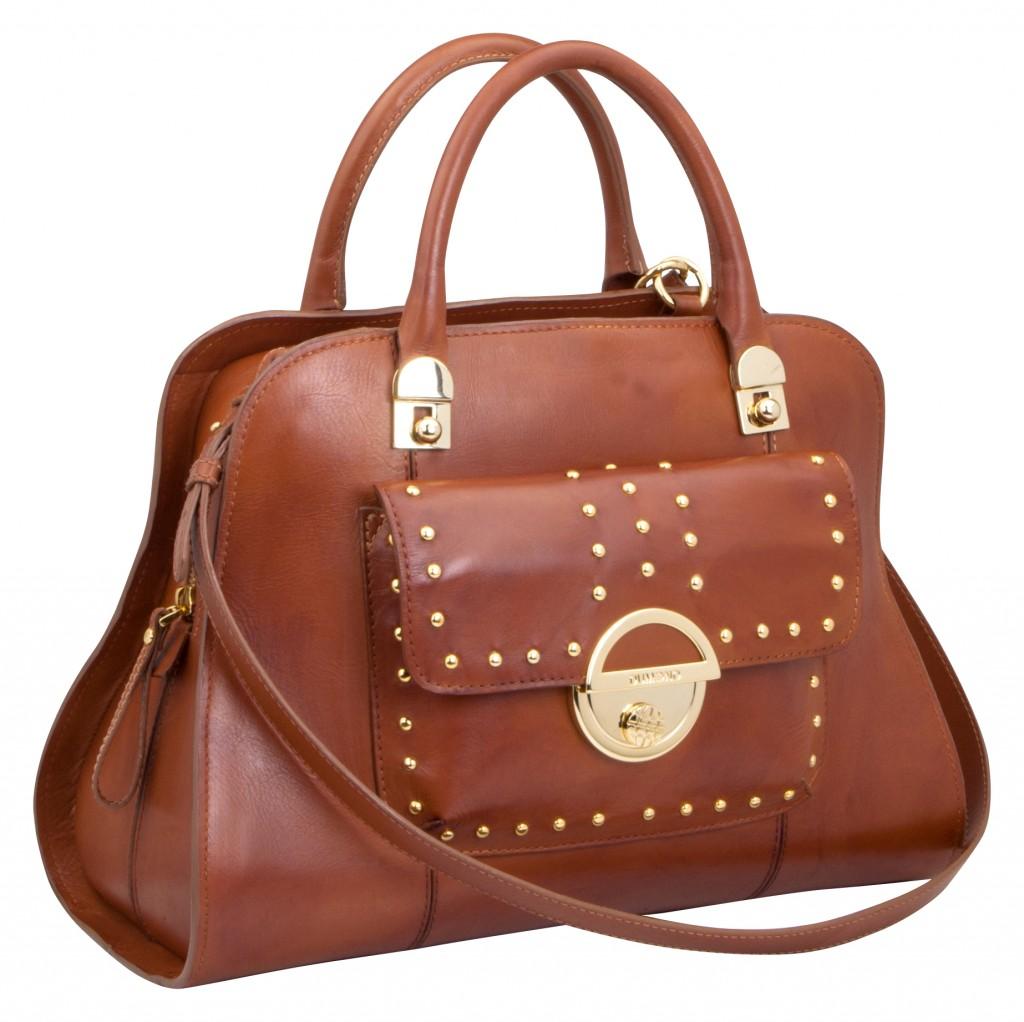 Dumond Tasche in der Modefarbe Cognac